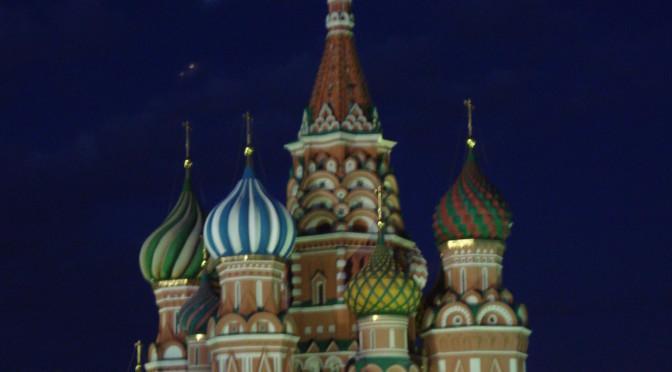 In Moskou!